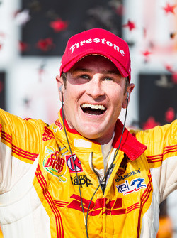 Race winner Ryan Hunter-Reay, Andretti Autosport