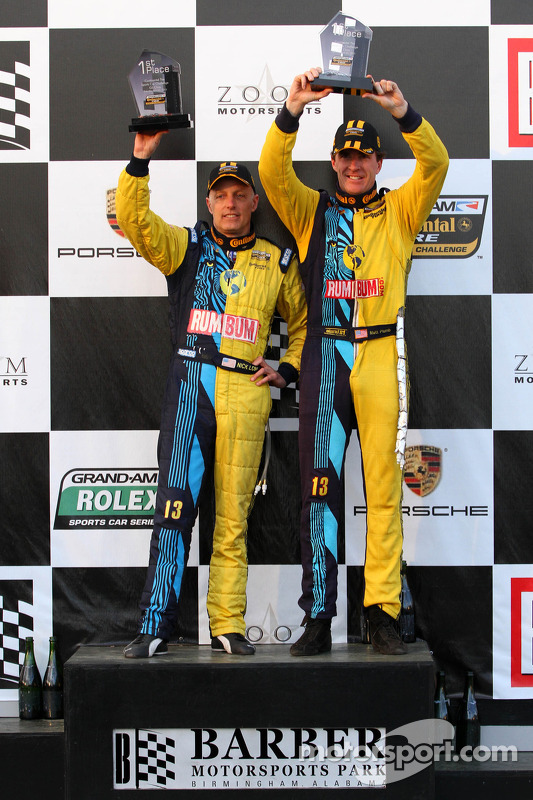 GS Vencedores:  #13 Rum Bum Racing, Matt Plumb, Nick Longhi