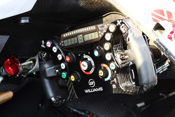 Williams FW35 steering wheel
