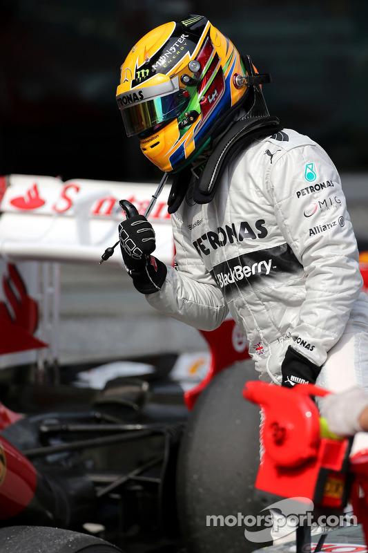 Lewis Hamilton, Mercedes Grand Prix Campeonato Mundial de Fórmula 1, Rd 3, Grande Prêmio da China, X