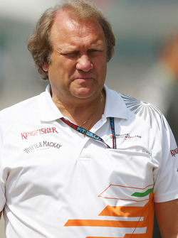 Robert Fernley, Sahara Force India F1 Team Sub-chefe de equipe