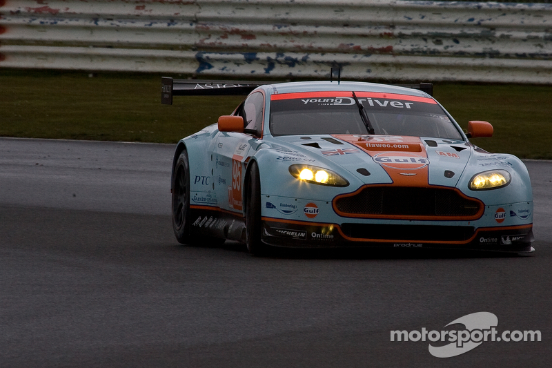 #95 Aston Martin Racing Aston Martin Vantage V8: Christoffer Nygaard, Kristian Poulson, Allan Simons