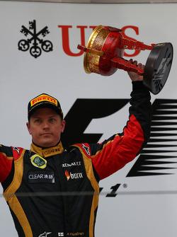 2nd place Kimi Raikkonen, Lotus F1 Team