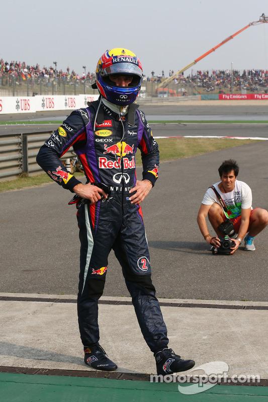 Mark Webber, Red Bull Racing fora da corrida