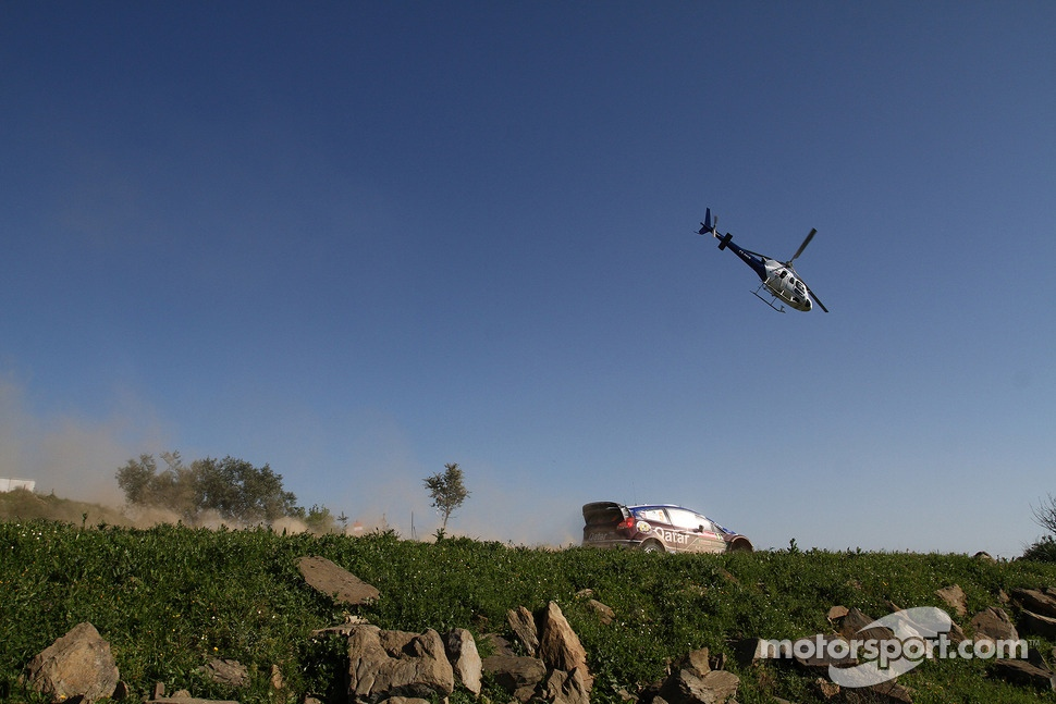 Evgeny Novikov, Ilka Minor, Ford Fiesta WRC, Qatar M-Sport WRT