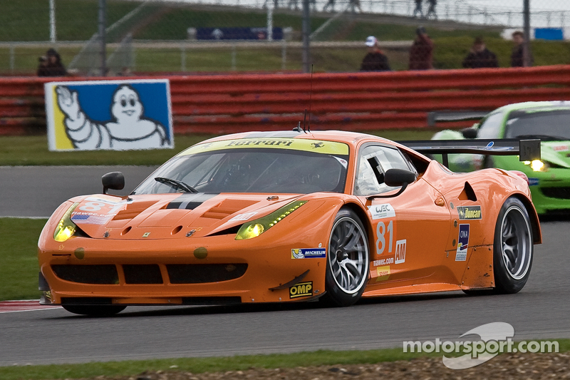 #81 8 Star Motorsports Ferrari 458 Italia: Enzo Potolicchio, Rui Aguas, Philipp Peter