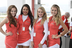 Lovely Ferrari girls