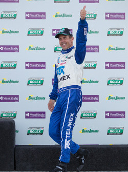 Race winner Scott Pruett