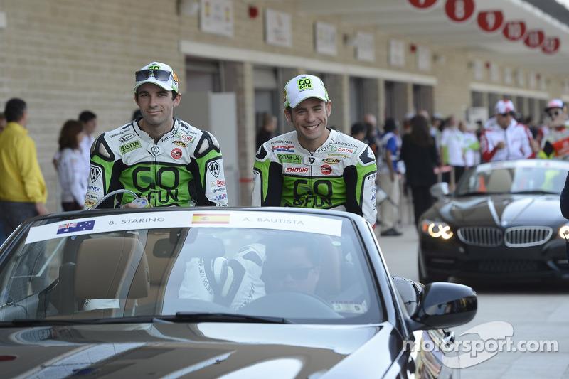 Bryan Staring en Alvaro Bautista, Go & Fun Honda Gresini