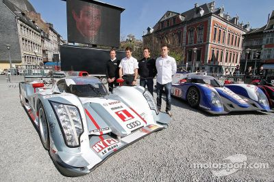 Teams visit Liege, Belgium