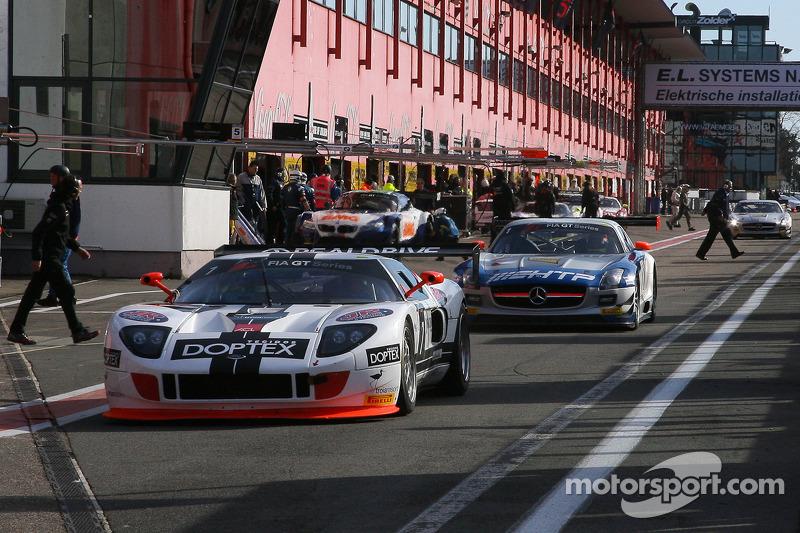 #7 Rodrive Competiçoes Ford GT: Matheus Stumpf, Claudio Ricci