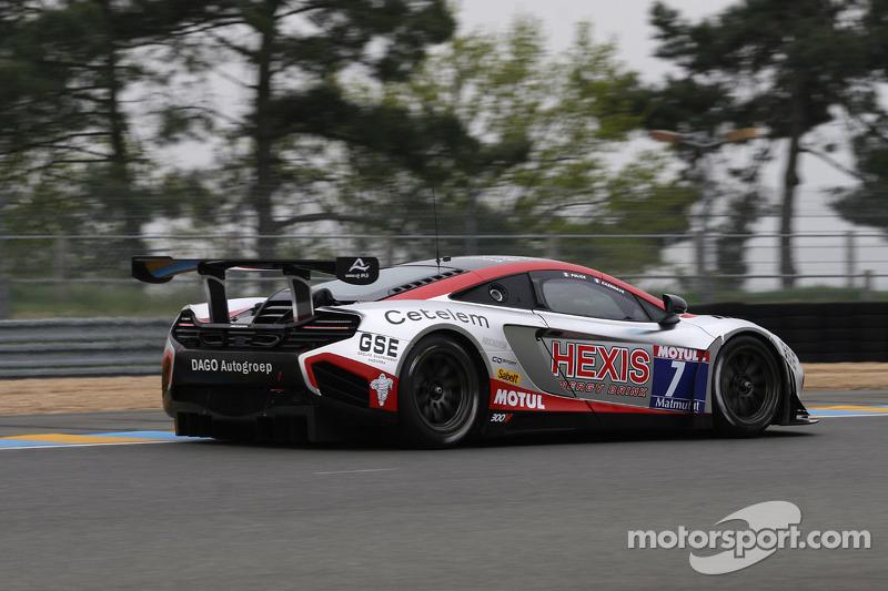 #7 Hexis Racing Mc Laren MP4/12C: Jean-Claude Police, Laurent Cazenave