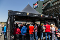 Abarth racing experience at Sonoma raceway