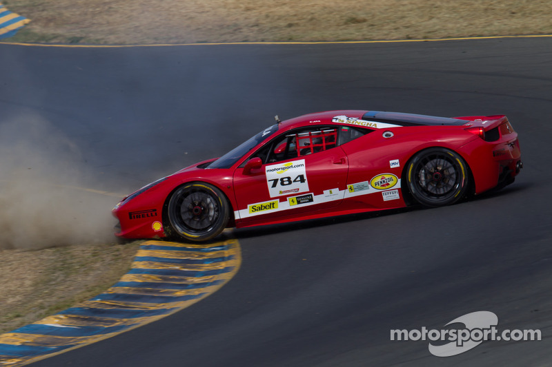 #784 Ferrari of Fort Lauderdale Ferrari 458: Roberto Cava