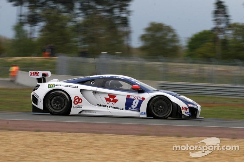 #9 Sébastien Loeb Racing Mc Laren MP4/12C: Nicolas Tardiff, Nicolas Marroc
