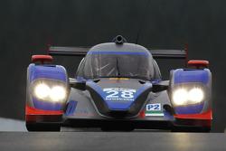 #28 Gulf Racing Middle East, Lola B12/80 Coupe - Nissan: Frederic Fatien, Fabien Giroix, Keiko Ihara