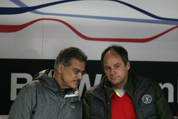 Dr. Mario Theissen, Former Head of BMW Motorsport and Gerhard Berger
