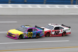 Travis Pastrana and Sam Hornish Jr.