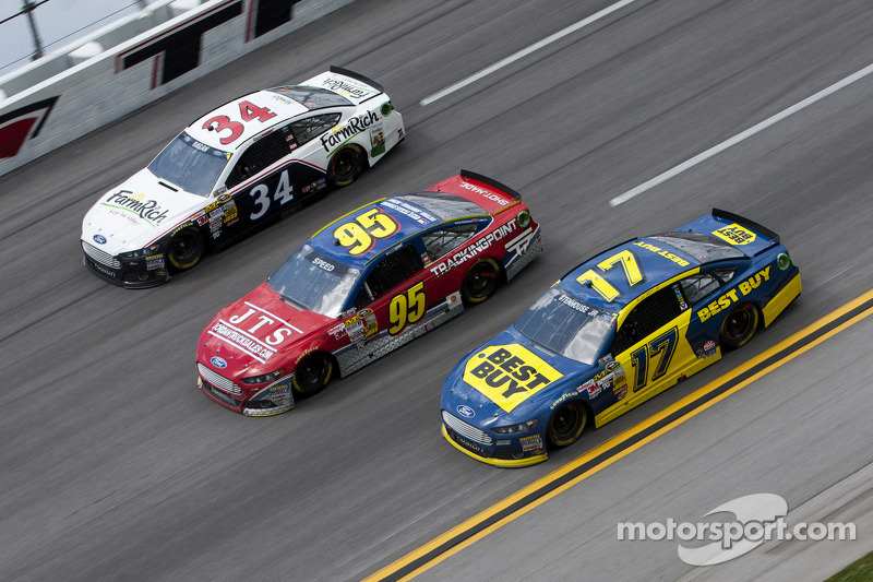 David Ragan, Scott Speed and Ricky Stenhouse Jr.