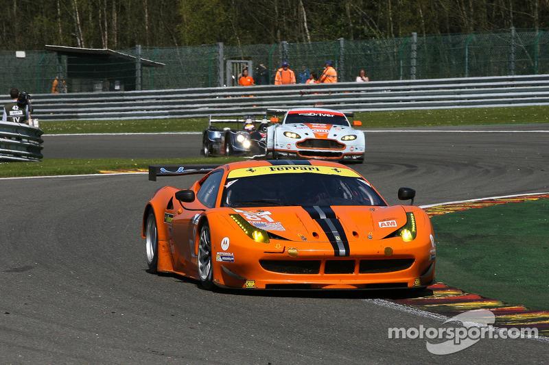 #81 8 Star Motorsports Ferrari F458 Italia: Enzo Potolicchio, Rui Aguas, Matteo Malucelli