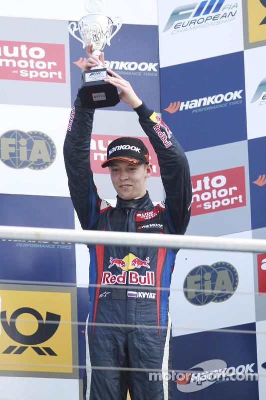 Podium: 3e plaats Daniil Kvyat