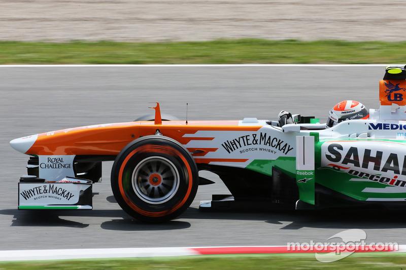 Adrian Sutil, Sahara Force India