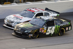 Kyle Busch and Elliott Sadler