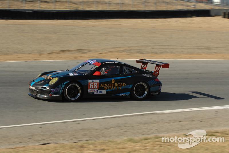 #68 TRG Porsche 911 GT3: Andrew Novich, Craig Stanton