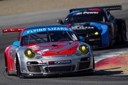 #44 Flying Lizard Motorsports Porsche 911 GT3 RSR: Pierre Ehret, Dion von Moltke