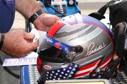Helmet of Marco Andretti, Andretti Autosport Chevrolet