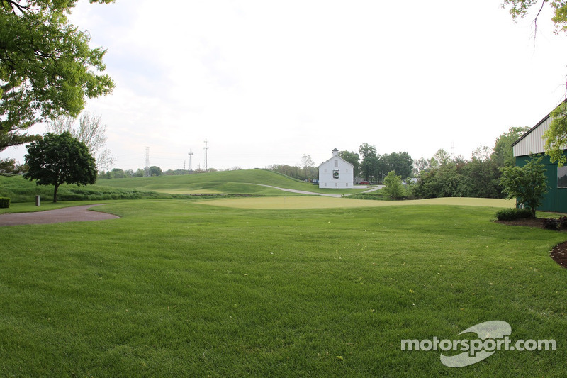 De Brickyard Crossing golfbaan binnen de Indianapolis Motor Speedway