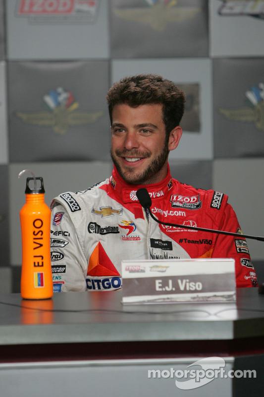 EJ Viso, da equipa Venezuela / Andretti Autosport / HVM Chevrolet