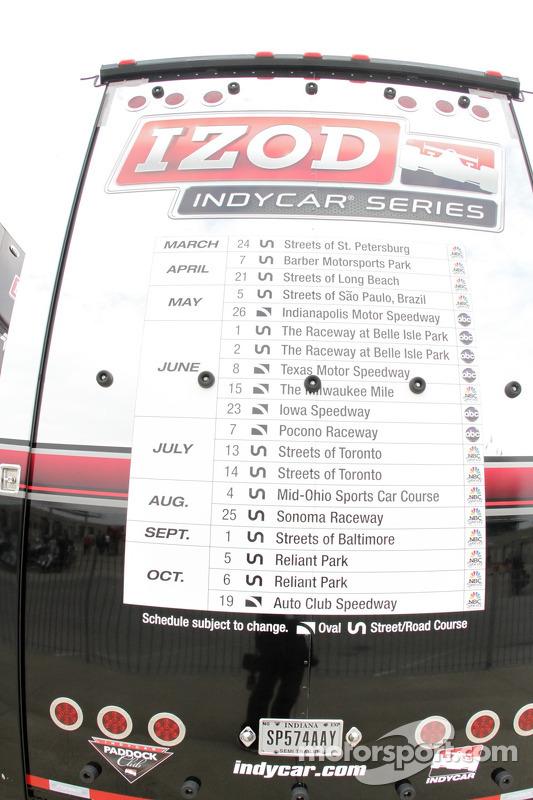 Horário da Fórmula Indy