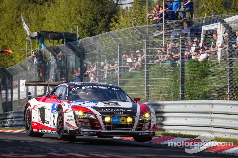 #2 Abt Team Mamerow Audi R8 LMS ultra (SP9): Christian Mamerow, Thomas Mutsch, René Rast, Marc Basseng