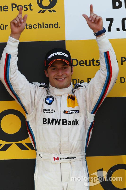 pódio: segundo colocado Bruno Spengler, BMW Team Schnitzer BMW M3 DTM