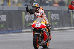 Sieger Dani Pedrosa, Repsol Honda Team, feiert