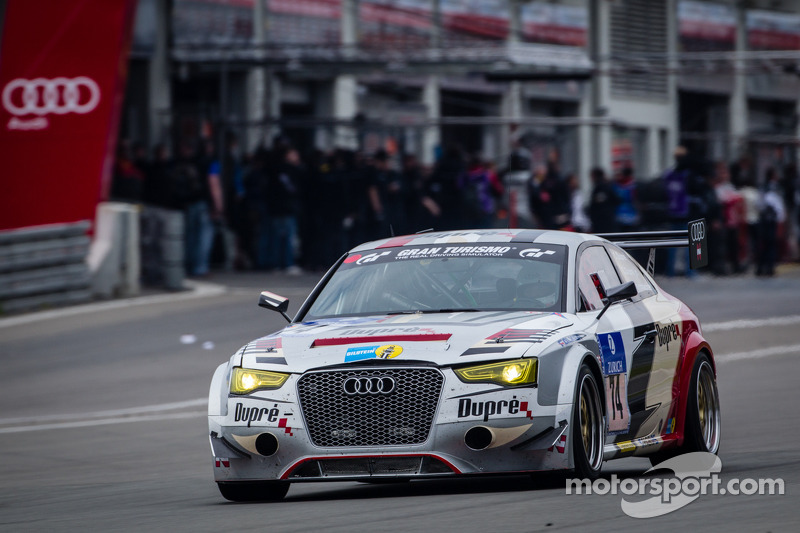 #74 Dupré Engineering Audi RS5 GT (SP8): Christoph Dupré, Gunther Ofenmacher, Claus Dupré