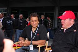 Alex Zanardi returns to Indianapolis