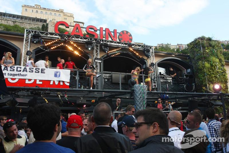 Fans enjoying the entertainment at Rascasse