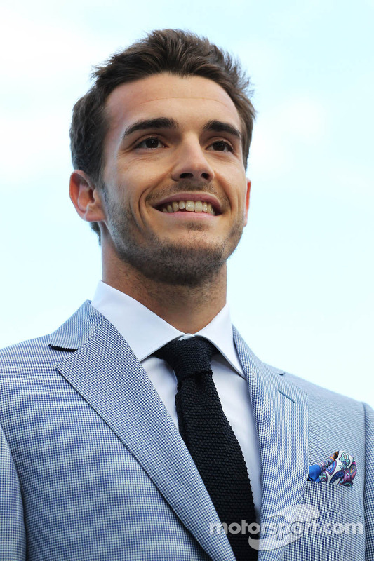 Jules Bianchi, Marussia F1 Team no Amber Lounge Fashion Show