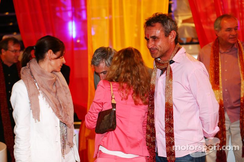 Beat Zehnder, Sauber F1 Team Manager bij de Signature F1 Monaco Party