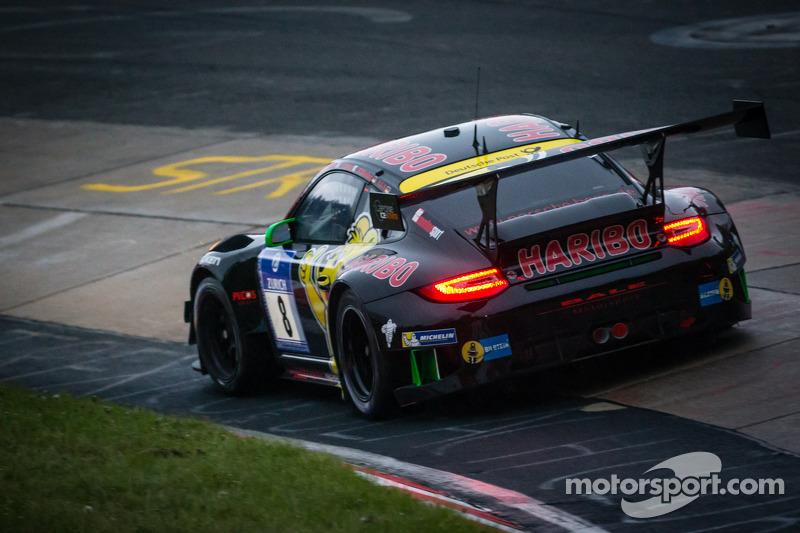 #8 Haribo Racing Team Porsche 911 GT3 R (SP9): Richard Westbrook, Emmanuel Collard, Mike Stursberg, Hans Guido Riegel