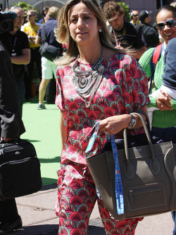 Rafaela Bassi, wife of Felipe Massa, Ferrari
