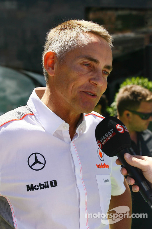Martin Whitmarsh, CEO da McLaren