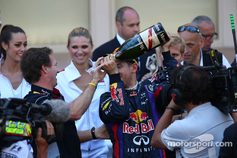 Christian Horner, Teambaas Red Bull Racing en Sebastian Vettel, Red Bull Racing