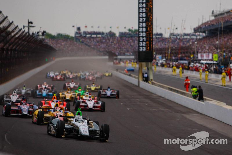 Start zum 97. Indy 500