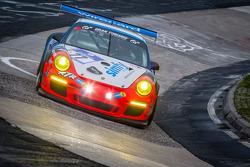 #77 Raceunion Teichmann Racing Porsche 911 GT3 Cup (SP7): Jos Menten, Stefan Landmann, Stef Vancampenhoud