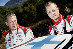 Mikko Hirvonen en Jarmo Lehtinen, Citroën DS3 WRC, Citroën Total Abu Dhabi World Rally Team
