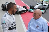 Stirling Moss et Lewis Hamilton