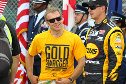 Ed Carpenter, Ed Carpenter Racing Chevrolet wears an Indiana Pacers shirt